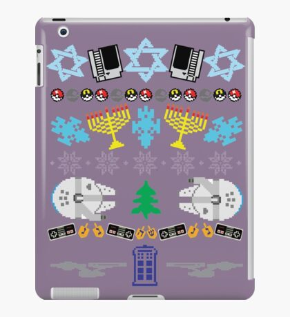 An Ugly 8 Bit Hanukkah iPad Case/Skin