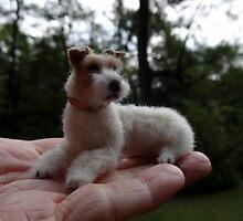 Fox Terrier Wire by dogartist