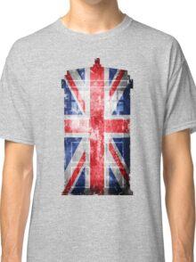 Tardis Union Jack Classic T-Shirt