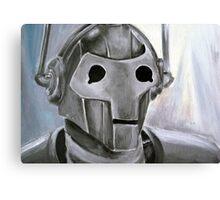 Dr Who Villains No.6 :Cyberman Canvas Print
