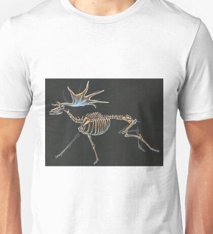 Megaloceros Giganteus Skeletal Study (No Labels) Unisex T-Shirt