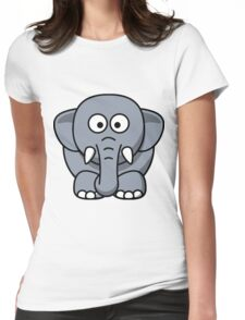 Eric the Elephant Womens Fitted T-Shirt