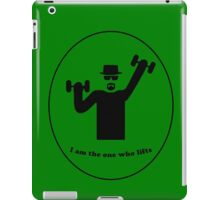 Walter lifts iPad Case/Skin