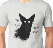 The Dog Bites Back Greyscale Unisex T-Shirt
