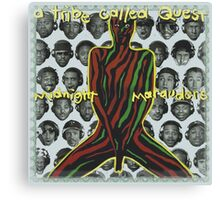 atcq midnight marauders  Canvas Print