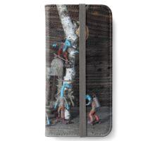 Micro-Dino Skateboarders series (#10) iPhone Wallet/Case/Skin