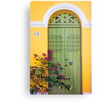San Juan doorway Metal Print