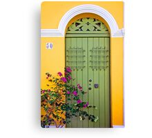 San Juan doorway Canvas Print