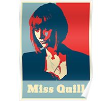 Miss Quill Poster