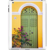 San Juan doorway iPad Case/Skin