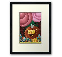 Dorothy and the Lion Framed Print