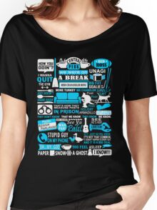 All in one Friends QUOTES T shirt  Women's Relaxed Fit T-Shirt