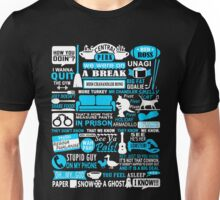 All in one Friends QUOTES T shirt  Unisex T-Shirt