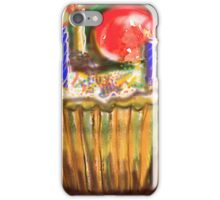 Cup Cake for a birthday iPhone Case/Skin