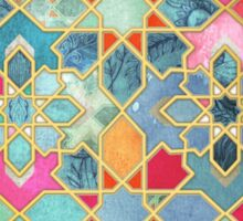 Gilt & Glory - Colorful Moroccan Mosaic Sticker