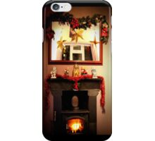 Home is where the hearth is iPhone Case/Skin