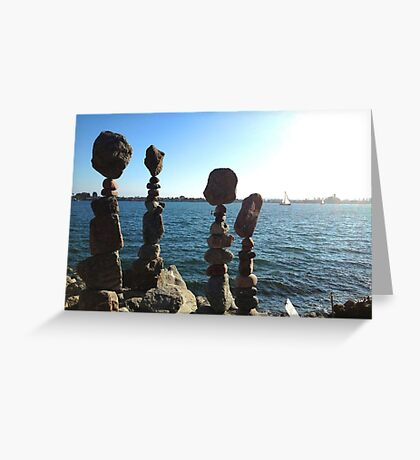 Standing Stones in San Diego Greeting Card