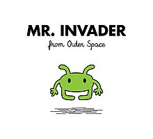 Mr. Invader Photographic Print