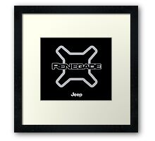 Jeep Renegade Framed Print