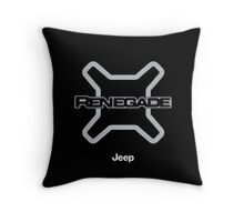 Jeep Renegade Throw Pillow
