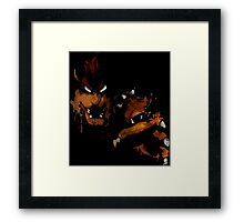 Snatchin 'yo princess up Framed Print