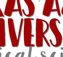 Texas A&M University - Political Science Sticker