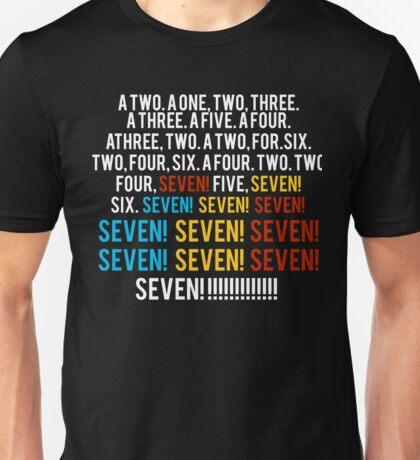 Friends - seven seven seven T shirt  Unisex T-Shirt