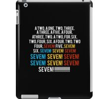 Friends - seven seven seven T shirt  iPad Case/Skin