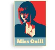 Miss Quill Scar Canvas Print