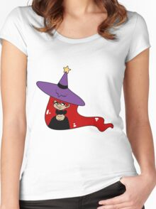 Witch Lady Women's Fitted Scoop T-Shirt