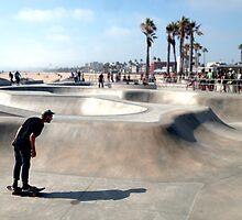 Venice Beach Skater by sando91