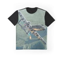 'A-10 Thunderbolt II' dropping a flare Graphic T-Shirt