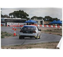 Oz Gymkhana #43 Ford Falcon XR6 Turbo Poster