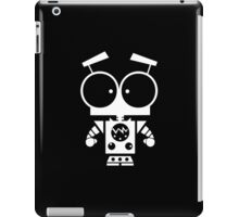 Cute Robot 8 White iPad Case/Skin