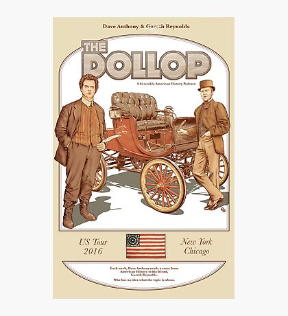 DOLLOP We Sign Cars (poster) Photographic Print