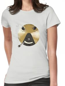 Smoking Fuzz Face Womens Fitted T-Shirt