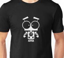 Cute Robot 8 White Unisex T-Shirt