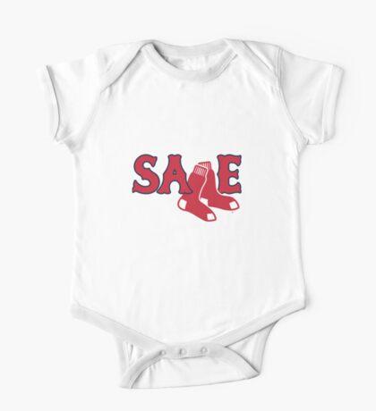 Chris Sale Red Sox Shirt One Piece - Short Sleeve