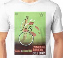 CYCLO-CROSS; Vintage Bicycle Racing Print Unisex T-Shirt