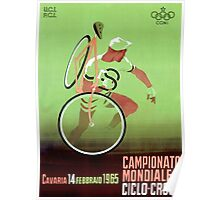 CYCLO-CROSS; Vintage Bicycle Racing Print Poster