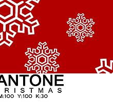 Pantone Christmas - Red by khuship