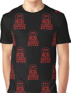Bliss (Black/Red)   Graphic T-Shirt