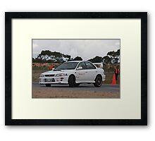 Oz Gymkhana #10 WRX Framed Print
