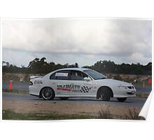 Oz Gymkhana #6 V8 Commodore Poster