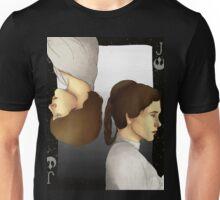 Luke and Leia Playing Card Unisex T-Shirt