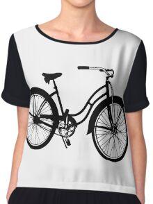bicycle Chiffon Top