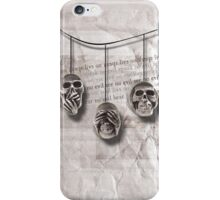 Skull Triad iPhone Case/Skin