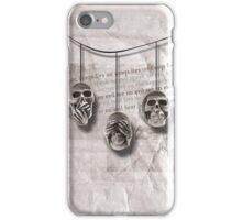 Skull Triad iPhone Case/Skin