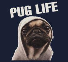 Pug Life Funny One Piece - Short Sleeve