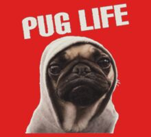 Pug Life Funny Kids Clothes
